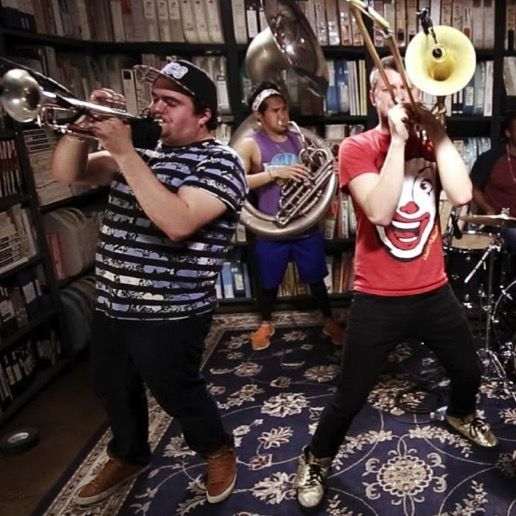 """Watch an Amazing All-Brass Cover of the Beatles' """"Helter Skelter"""""""