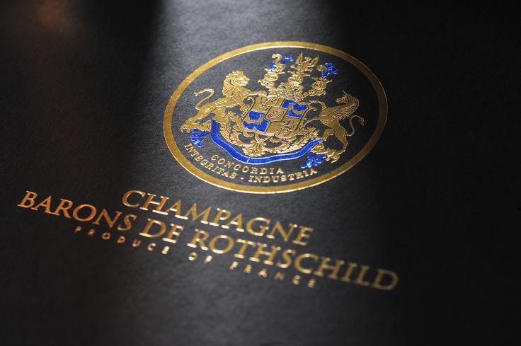 #Champagne Barons de #Rothschild - Coffret
