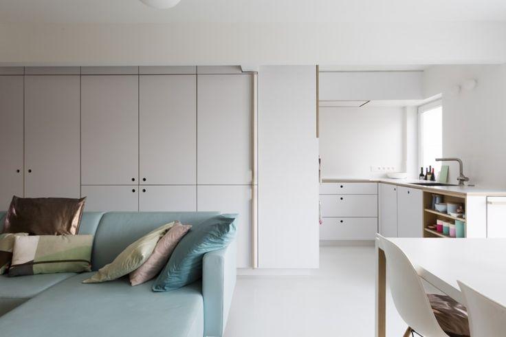 25 beste idee n over klein appartement wonen op pinterest decoratie klein appartement kleine - Een klein appartement ontwikkelen ...