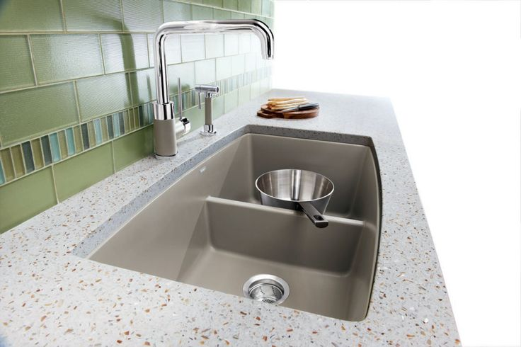 Kitchen:BLANCO CANADA INC. | New Blanco Performa Silgranit Kitchen Sink In Vintage Kitchen Sinks Canada Antique Retro Kitchen Faucets and Si...
