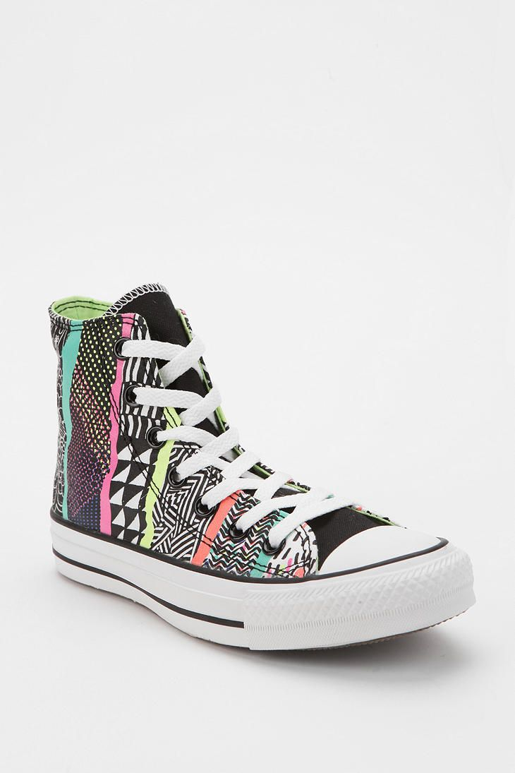 Converse Chuck Taylor All Star Mixed Print High-Top Sneaker #UrbanOutfitters