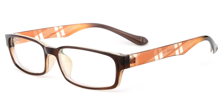 If you are looking for something bold and different, these kind of plastic frames are the answer for you. The smaller frames fit for petite faces and also have a classical look. They are made from high grade plastic and have multiple color combos for your choice and you can see them above. The total weight of the frame is about 17 gram. Pretty light weight, and comfortable to wear all day. Do not miss the special design for you.