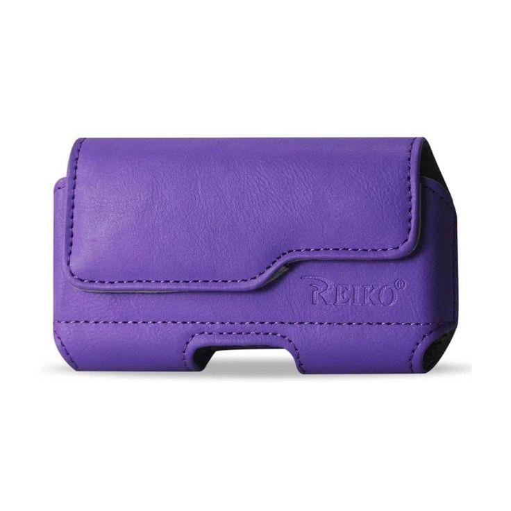 Reiko Horizontal Z Lid Leather Pouch Samsung Galaxy S3/ I9300/ R53 X Plus Purple