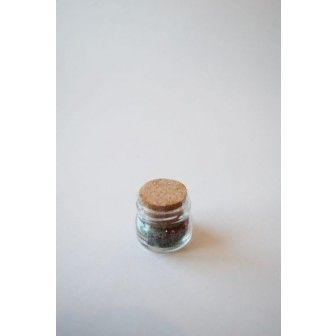 Borcan 30 ml Rotund cu dop pluta