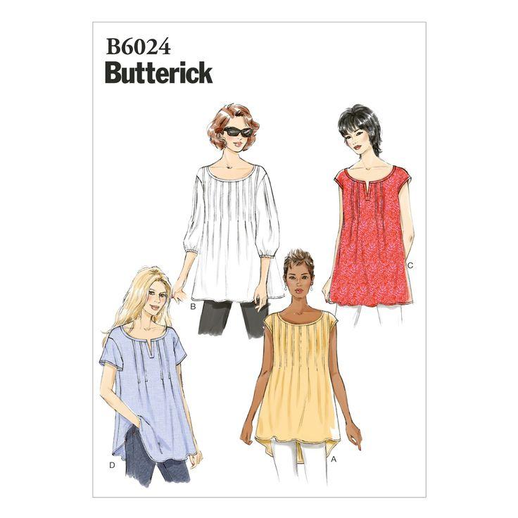 Mccall Pattern B6024 L-Xl-Xxl -Butterick PatternMccall Pattern B6024 L-Xl-Xxl -Butterick Pattern,