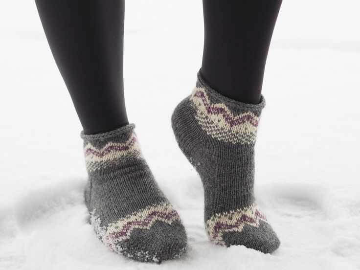Socks for the new year. Free Swedish pattern on our blog.