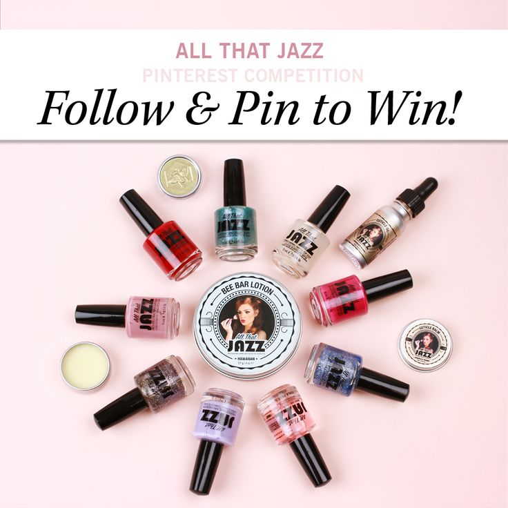 We have partnered with 'All That Jazz' to offer you the chance to win their incredible collection worth over £200! To Enter: Follow GLOSSYBOX UK and pin a polished nail design on this board. nail it an dyou could be our lucky winner!
