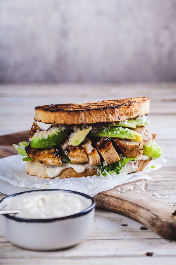 Chicken Caesar sandwich - Simply Delicious