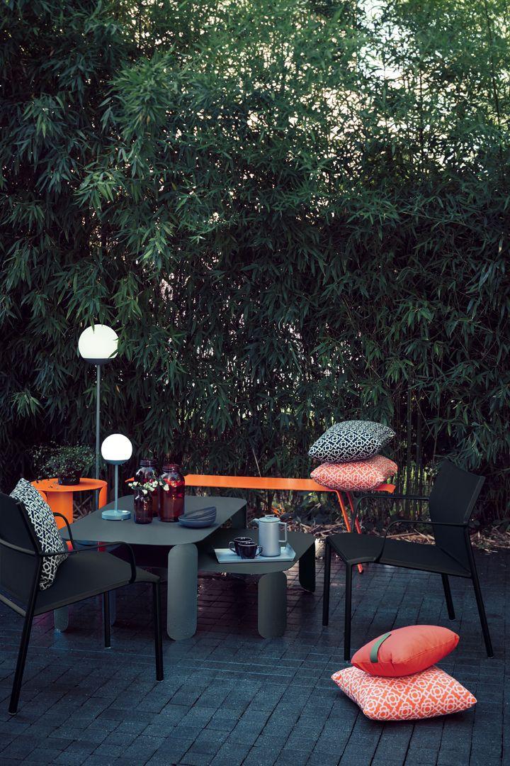 Collection Cadiz Fermob Mobilier De Jardin En Toile Et Aluminium Mobilier Jardin Meuble Jardin Terrasse Maison