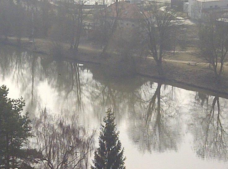 Paisaje invernal, República Checa