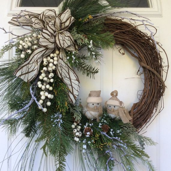 25 unique holiday wreaths ideas on pinterest diy. Black Bedroom Furniture Sets. Home Design Ideas