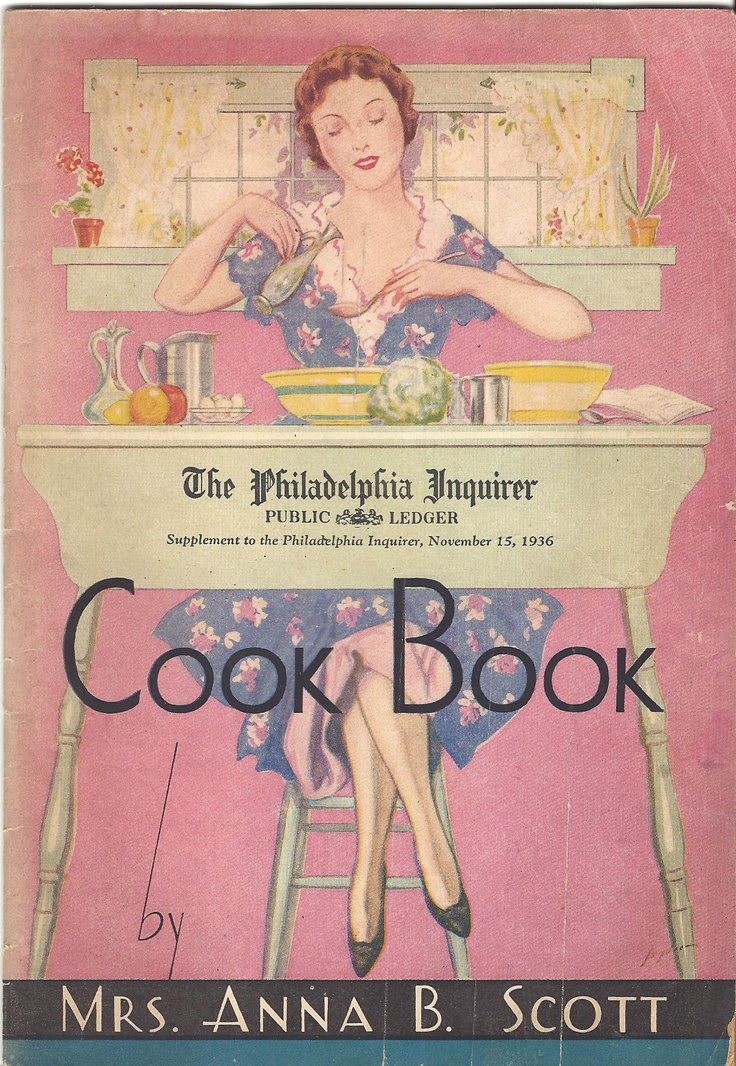 The Philadelphia Inquirer Cook Book, 1936
