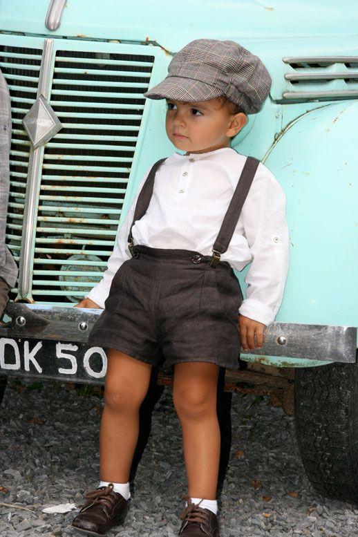 Adorable ce petit look pour un invité stylé ! #mariage #enfant #tenue