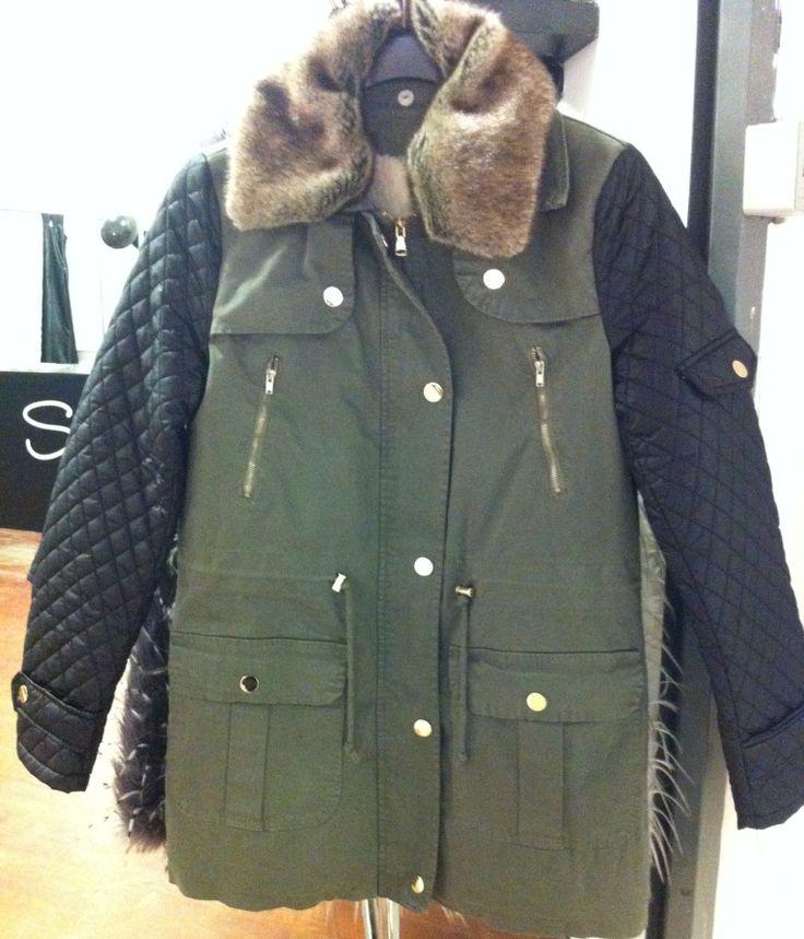 Warm coat from Italy