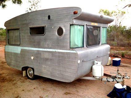 Vintage Caravan Wayfarer Rambler 1965