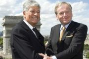 11-1-2013 Publicis Groupe CEO Maurice Levy and Omnicom Group CEO John Wren