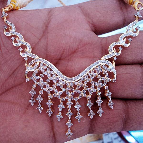 Diamond Hallmark Yellow Gold Pendant