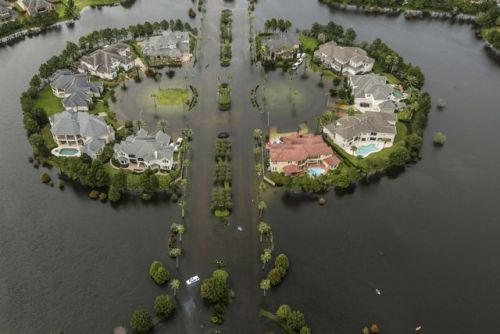 #5 of 10 Most Popular News Galleries of 2017: Dramatic aerial...   #5 of 10 Most Popular News Galleries of 2017: Dramatic aerial views of the flooding in Harveys aftermath  (Originally posted on August 30 2017)  See the countdown of our most popular galleries of the year!  See the rest of our 2017 Year End features >>>  _____  Neighborhood after neighborhood underwater. Submerged highways. The cities of coastal Texas in crisis. The destruction wrought by Hurricane Harvey downgraded to a…