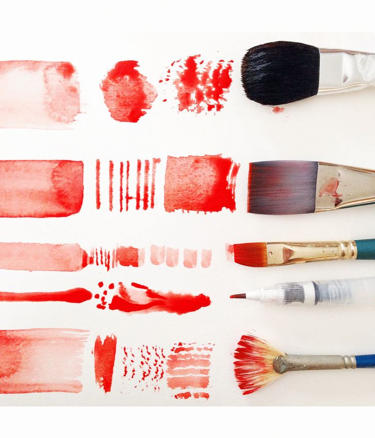 I get a ton of questions about watercolor techniques - what I paint with, how I paint, and what I paint on. In this three part series, I hope to answer some of your questions! First off, the brand of brush doesn't matter at all. I use a mix of cheap brushes and some more high quality ones that my parents have handed down to me, and I really don't feel strongly one way or the other- so don't feel intimidated about what to buy! It's all about how you use the tool, not what brand it is...