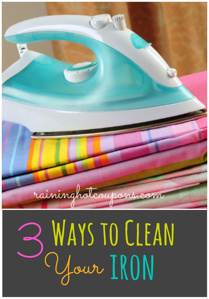 3 Ways To Clean Your Iron