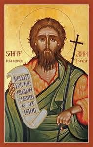 Feast of: St. John the Baptist  John is described as having the unique practice of baptism for the forgiveness of sins. Most scholars agree that John baptized Jesus.