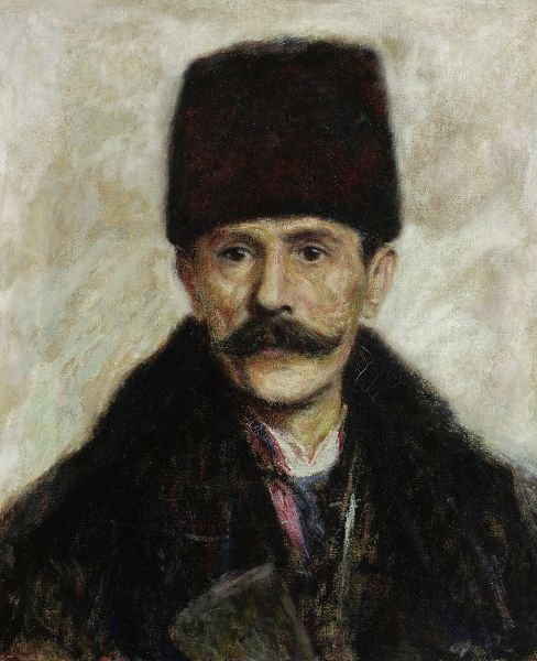 Portret Ostaszewskiego - Władysław Podkowiński
