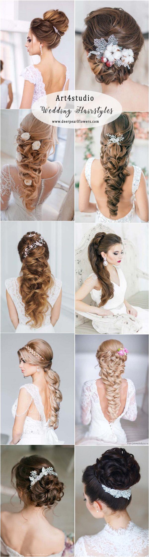 Art4studio long wedding hairstyles and wedding updos