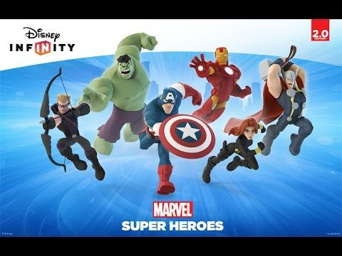 DISNEY INFINITY + marvel infinity 2.0 collectable gaming figures collection - YouTube