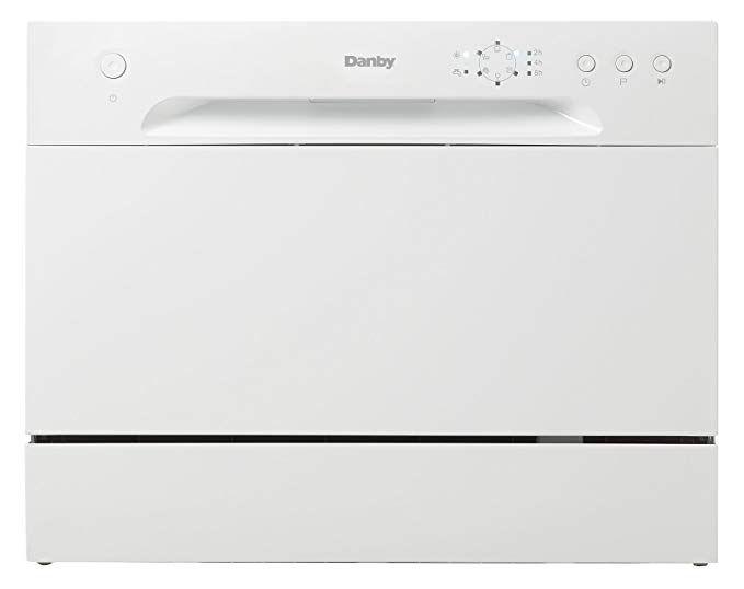 Amazon Com New Model Danby Ddw621wdb Countertop Dishwasher