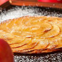 Tarta Fina de manzana. ༺✿ƬⱤღ  https://www.pinterest.com/teretegui/✿༻