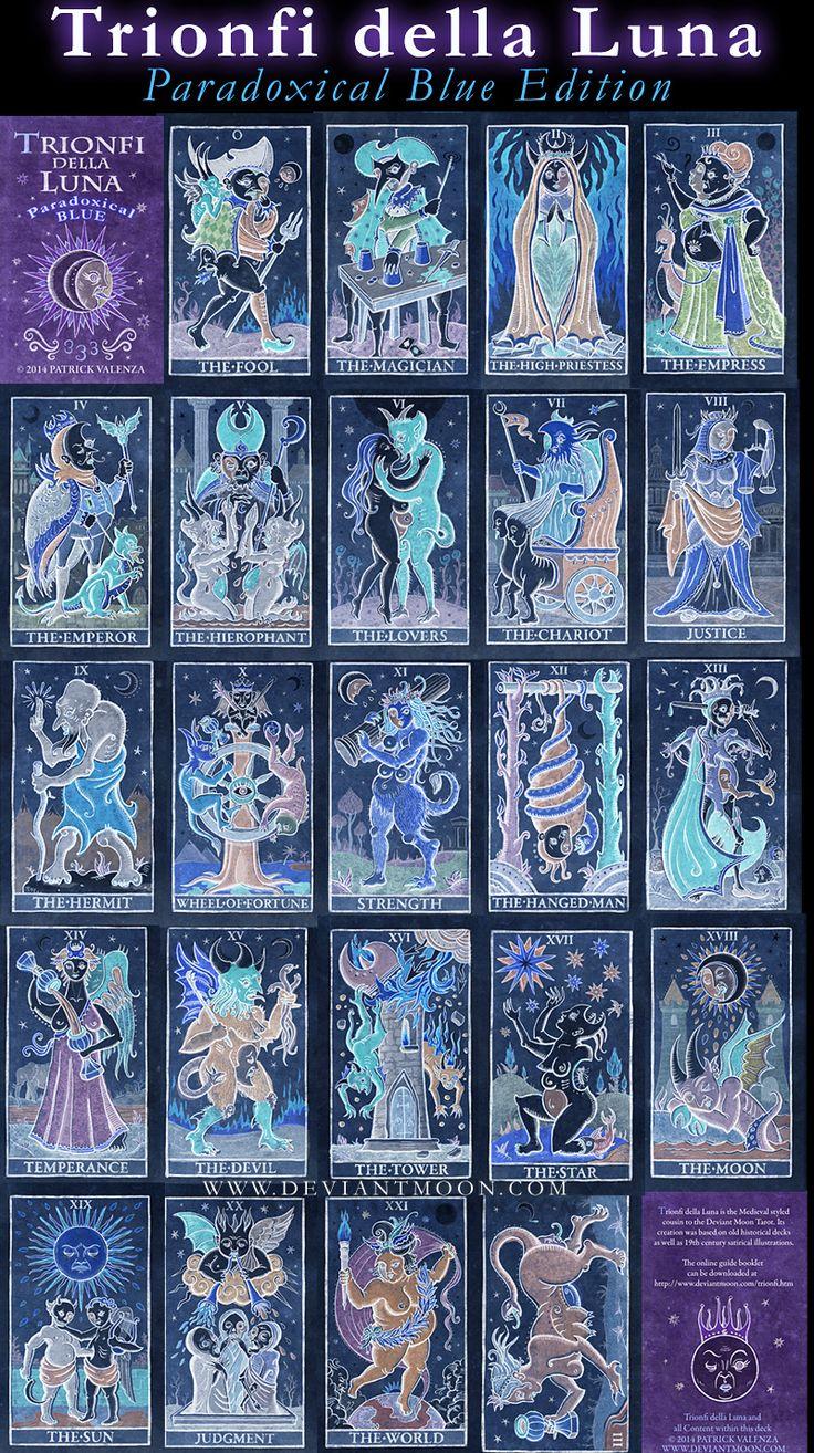 Trionfi Cards: Tarot Art - Misc. Cards