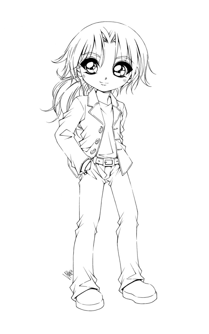 anime coloring pages deviantart photoshop - photo#6