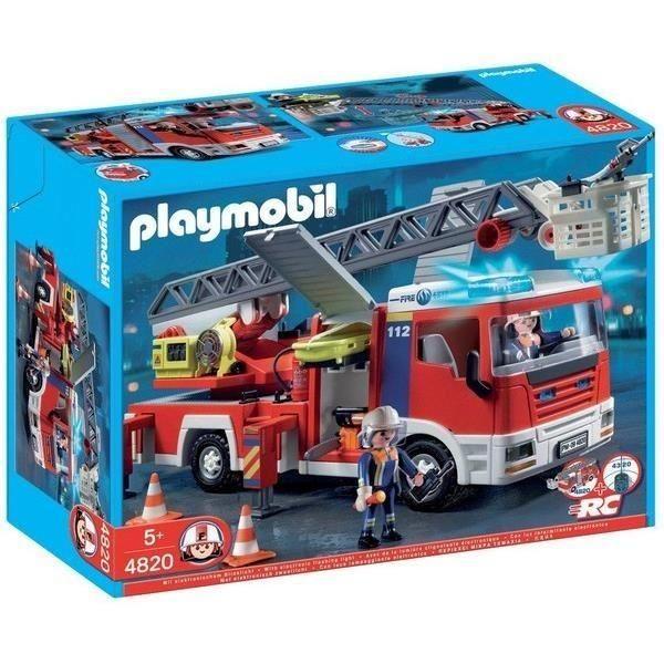 Playmobil 4820 Camion de Pompiers Grande Echelle
