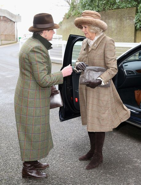 Camilla Parker Bowles Photos: The Duchess Of Cornwall Attends The Royal Artillery Gold Cup