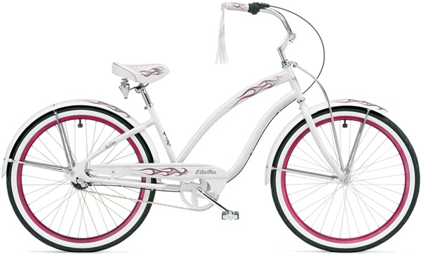 My White Betty Electra Cruiser Bike Collector S Item Now As The No Longer Make Them In This
