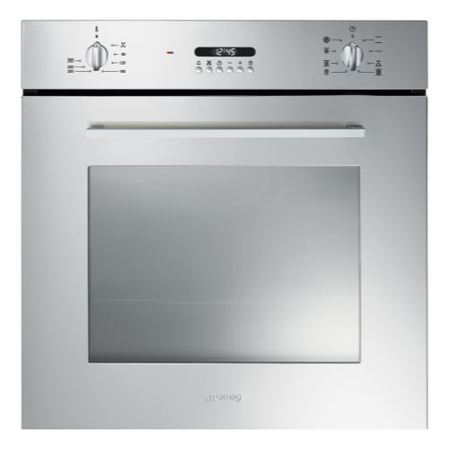 Smeg SF478X Cucina 60cm Multifunction Oven With New Style Controls - Stainless Steel