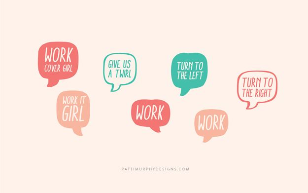 Free Wallpaper Download Work It Girl Wallpaper