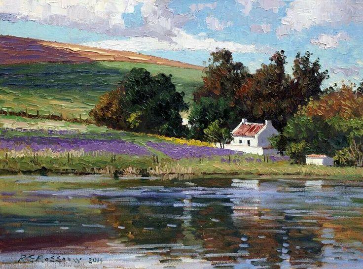 Roelof Rossouw  Cottage and dam