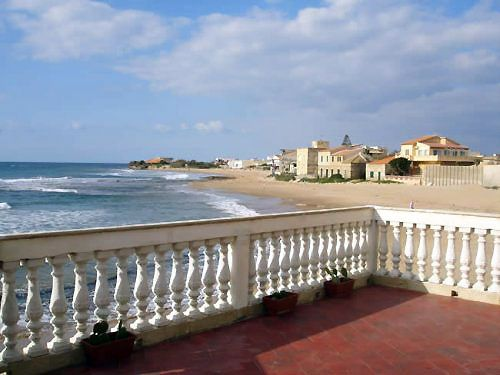 Fiction : The House of Commisar Montalbano in Sicily (Punta Secca)