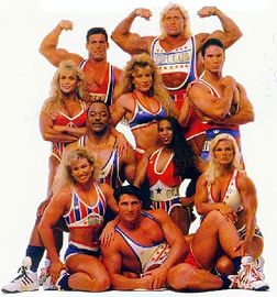 American Gladiators Mom and I watched this all the time. Lol