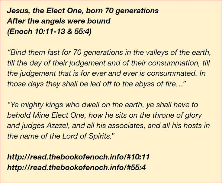 Pin on book of enoch quotes