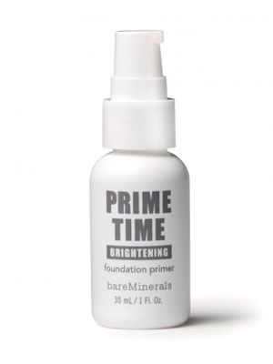 12 Best Makeup Primers..This is Bare Escentual's Brightening Foundation Primer.. I'm not much of a mineral foundation user but this is supposed to be great for those who are and say it definitely keeps their mineral make-up on all day.. Hmmmmmmm.....