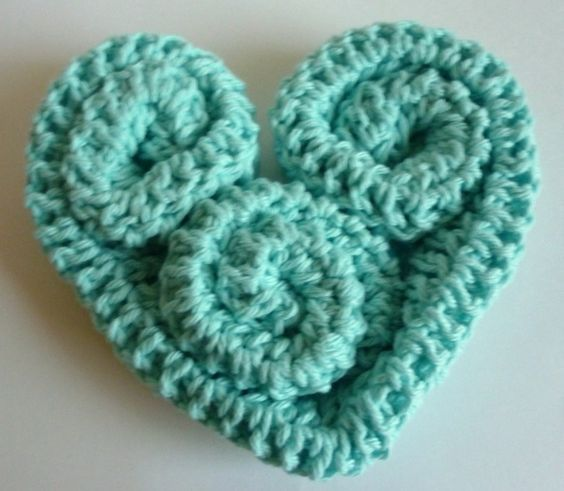 Crochet Dynamite: Heart Trivet/instructions ~ free pattern