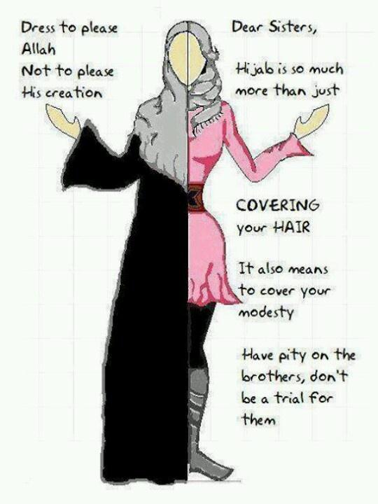 Dress to please Him....