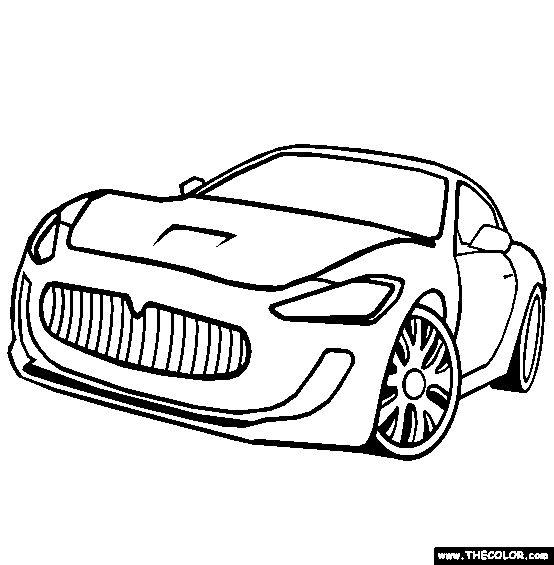 The-Blueprints.com - Blueprints > Cars > Maserati > Maserati Gran ...