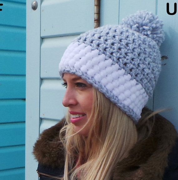 Easy Chunky Crochet Hat Pattern : 17 Best ideas about Crochet Hats on Pinterest Crocheting ...