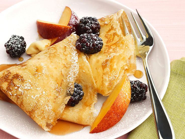 Swedish Pancakes recipe from Food Network Kitchen via Food Network
