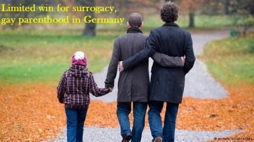 Limited win for surrogacy, gay parenthood in Germany by Gestational Surrogacy india