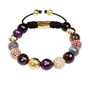 Nialaya bracelet gemstones and diamonds: 440€