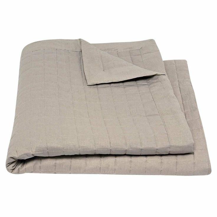 Grid Bedspread Linen from Domayne Online